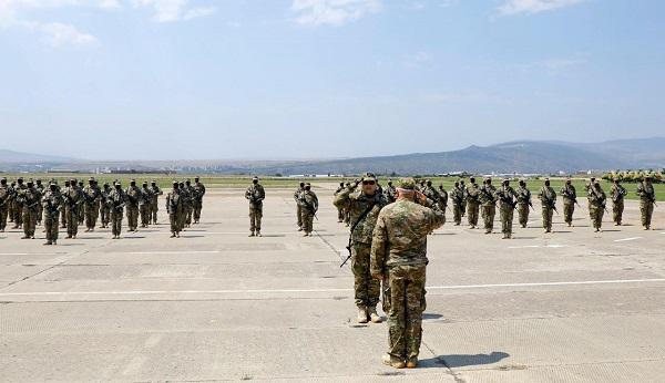 ავღანეთის სამშვიდობო მისიაში აღმოსავლეთის სარდლობის ასეული გაემგზავრა