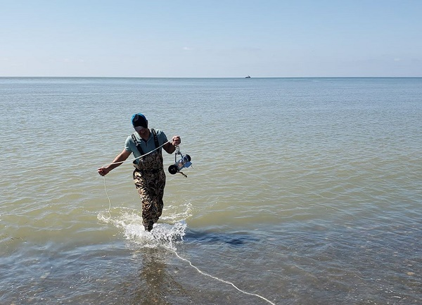 შავი ზღვის სანაპირო წყლების მონიტორინგი გრძელდება