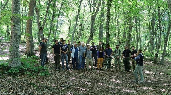 სატყეო სპეციალობის 26 კურსდამთავრებული, ახმეტასა და დედოფლისწყაროში ტყის ინვენტარიზაციის სამუშაოებზე დასაქმდება