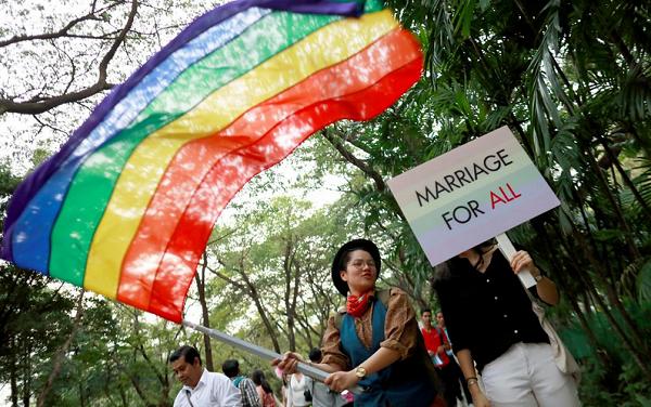 ტაილანდის მთავრობა მხარს უჭერს ერთნაირსქესიანთა ქორწინების დაკანონებას