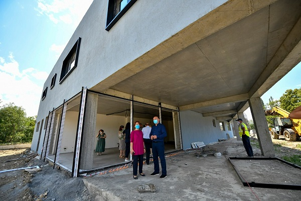 პატარა მეჯვრისხევში თანამედროვე სტანდარტების საჯარო სკოლის მშენებლობა სრულდება
