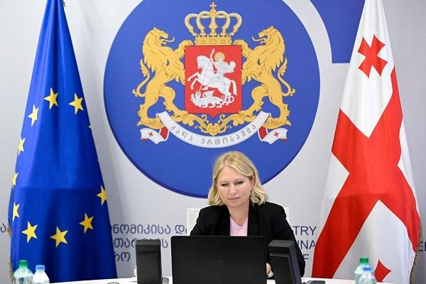საქართველოსა და ევროკავშირს შორის მიმდინარე და სამომავლო თანამშრომლობის პროგრამები განიხილეს