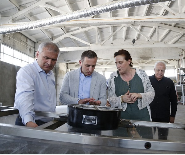 სახელმწიფოს მხარდაჭერით, კომბინირებული საკვების ახალი საწარმო ამოქმედდა
