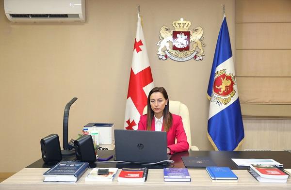 შს მინისტრის მოადგილემ COVID-19-ის პანდემიის დროს გენდერისა და უსაფრთხოების საკითხებზე გამართულ ონლაინ შეხვედრაში მონაწილეობა მიიღო