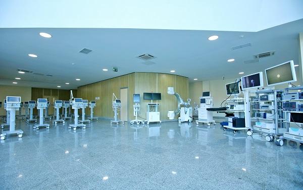 ბათუმის რესპუბლიკური საავადმყოფოს ახალი შენობის ტექნიკით აღჭურვა გრძელდება