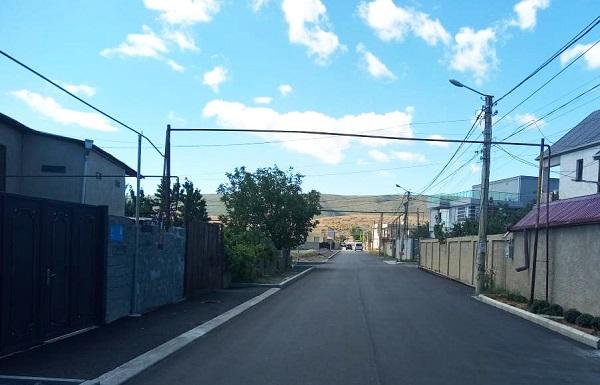 იან ჰომერის ქუჩის რეაბილიტაცია დასრულდა