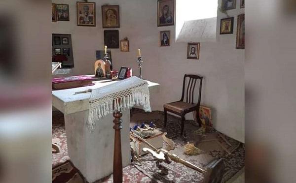 სოფელ ჩუმლაყში ეკლესია გაძარცვეს და დაარბიეს