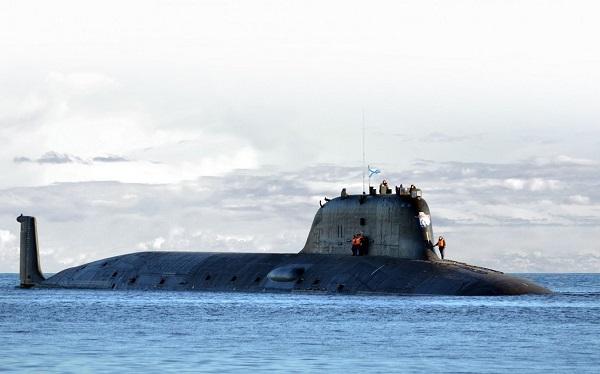 ალასკის სანაპიროებთან რუსული ატომური წყალქვეშა ნავი გამოჩნდა