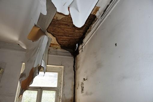 ბარნოვის N83-ში სახლის გამაგრების სამუშაოები დასრულდა