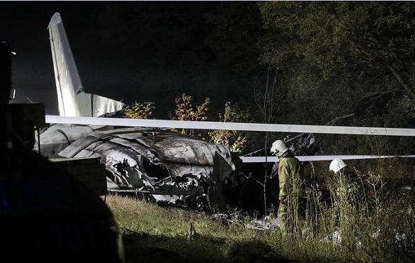 უკრაინაში სამხედრო თვითმფრინავის კატასტროფისას დაღუპულთა რიცხვი 26-მდე გაიზარდა