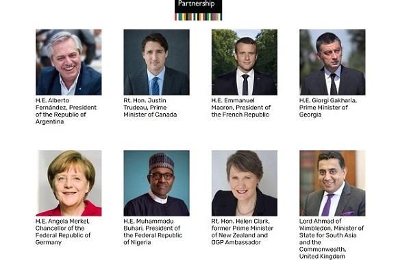 გახარიამ, მსოფლიო ლიდერებთან ერთად, ღია მმართველობის მაღალი დონის სამიტის მონაწილეებს მიმართა