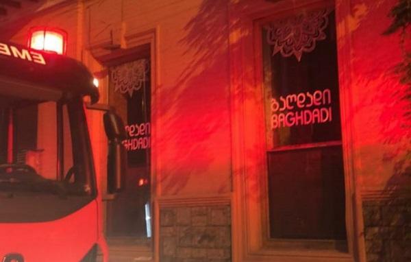 თბილისში, ახვლედიანის ქუჩაზე ხანძარი ლიკვიდირებულია