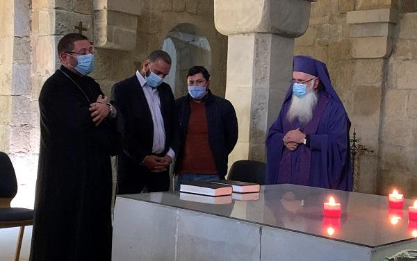 თბილისში სომეხმა და აზერბაიჯანელმა სასულიერო პირებმა მშვიდობისთვის ერთობლივად ილოცეს
