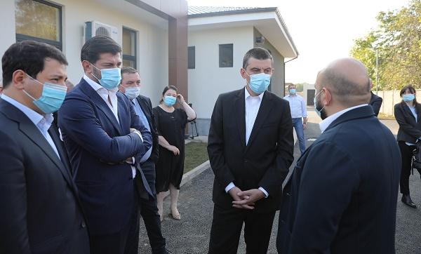 """""""ქართული ოცნების"""" ლიდერებმა ოზურგეთში საგანგებო სიტუაციების კოორდინაციისა და გადაუდებელი დახმარების ცენტრის ახალი შენობა დაათვალიერეს, რომელიც უახლოეს მომავალში გაიხსნება"""