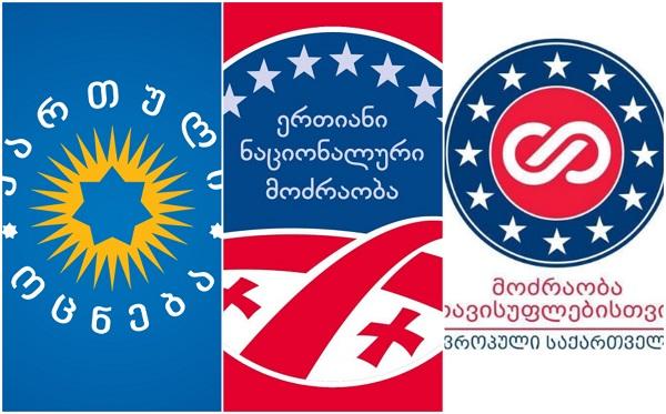 პოლიტიკური პარტიების რეიტინგები - Edison Research