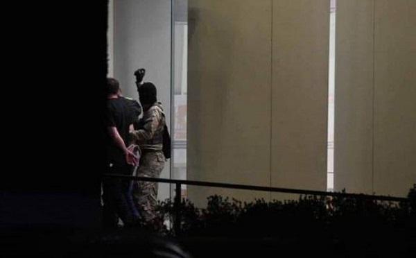 """""""საქართველოს ბანკზე"""" თავდამსხმელმა სამი მძევალი  სოფელ კირცხის ტყეში გაათავისუფლა და მიიმალა"""