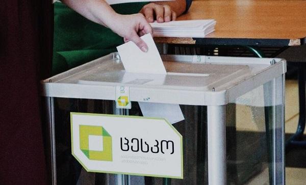 17:00 საათის მდგომარეობით ამომრჩეველთა აქტივობამ 20.74% შეადგინა