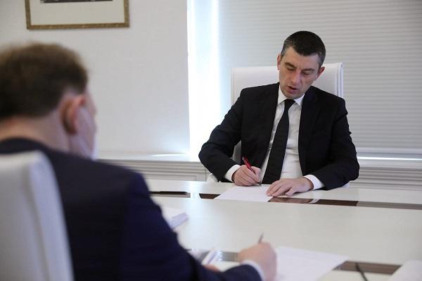 პრემიერ-მინისტრმა ბიზნესთან მომავალი წლის მაკროეკონომიკური პარამეტრები და პოსტპანდემიური ეკონომიკური აღდგენის გზები განიხილა