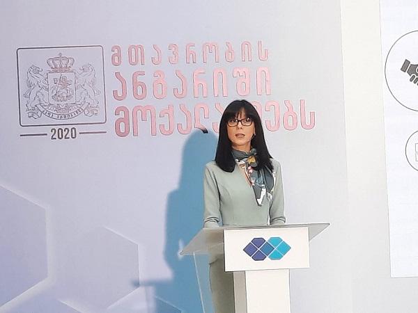 რუსეთის ფედერაციის მიერ ანექსიისკენ გადადგმული ინტენსიური ნაბიჯები მიმართულია შერიგების პროცესის წინააღმდეგ - თეა ახვლედიანი