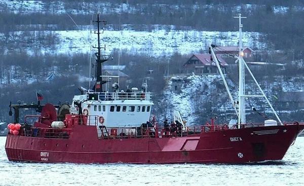 ბარენცის ზღვაში თევზსაჭერი გემი ჩაიძირა