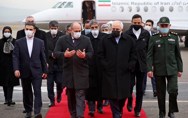 ირანის საგარეო საქმეთა მინისტრი საქართველოშია