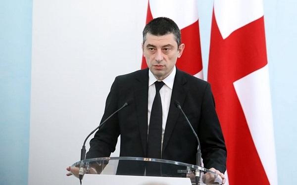 გიორგი გახარია ესტონეთის პრემიერ-მინისტრს თანამდებობაზე დანიშვნას ულოცავს
