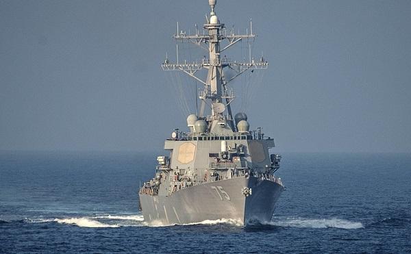 """ამერიკული სამხედრო ხომალდი """"დონალდ კუკი"""" შავ ზღვაში შემოვიდა"""