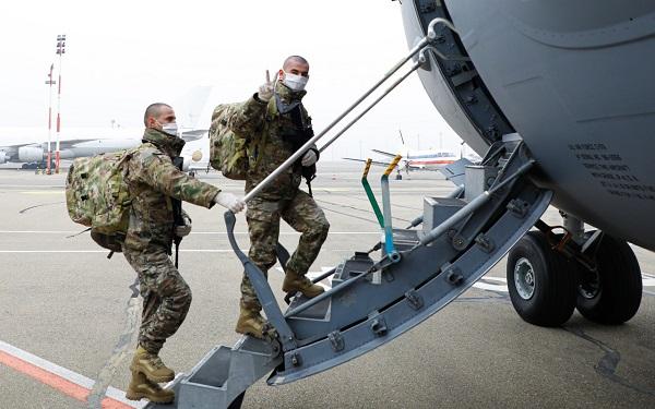 მე-3 ქვეითი ბრიგადის 32-ე ქვეითი ბატალიონი ავღანეთში გაემგზავრა