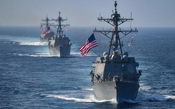 აშშ-ის საზღვაო ძალებმა შავ ზღვაში წარმომადგენლობა გაზარდა