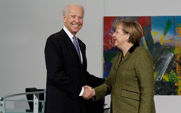 ანგელა მერკელმა ჯო ბაიდენი გერმანიაში მიიწვია
