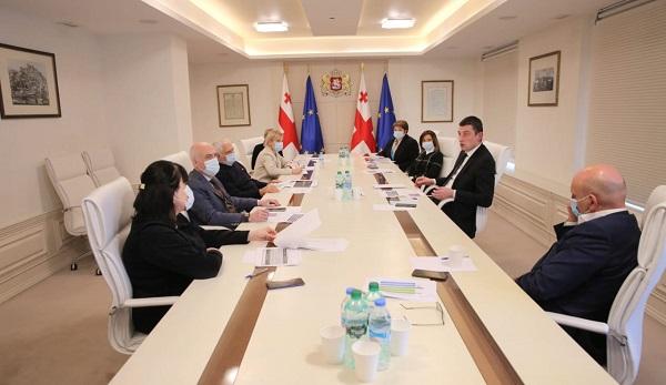 პრემიერ-მინისტრმა ვაქცინაციის სამოქმედო გეგმის შესახებ მორიგი სამუშაო შეხვედრა გამართა