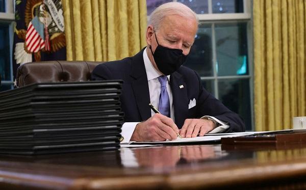 პრეზიდენტმა ბაიდენმა გააუქმა ტრამპის რამდენიმე გადაწყვეტილება
