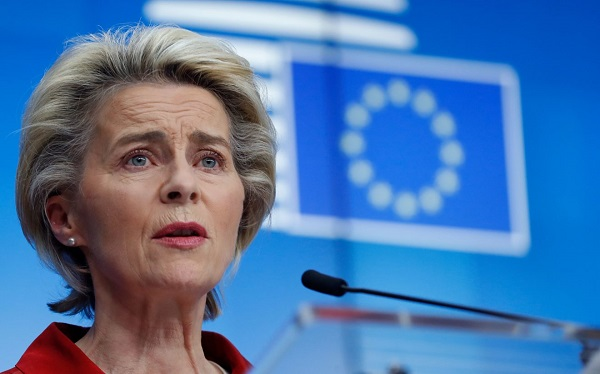 ევროკომისიის პრეზიდენტმა დაგმო ნავალნის დაკავება