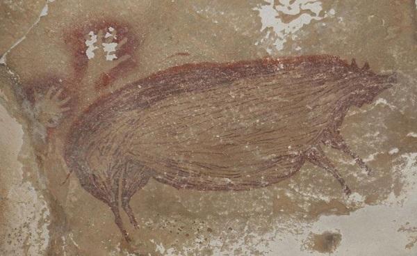 ინდონეზიაში ცხოველის ყველაზე ძველი გამოსახულება აღმოაჩინეს