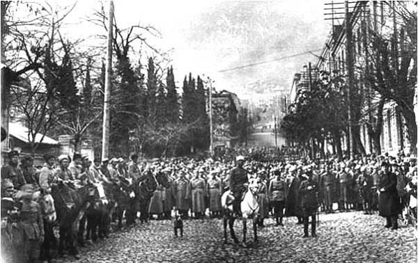 საბჭოთა რუსეთის მიერ საქართველოს ოკუპაციიდან 100 წელი გავიდა