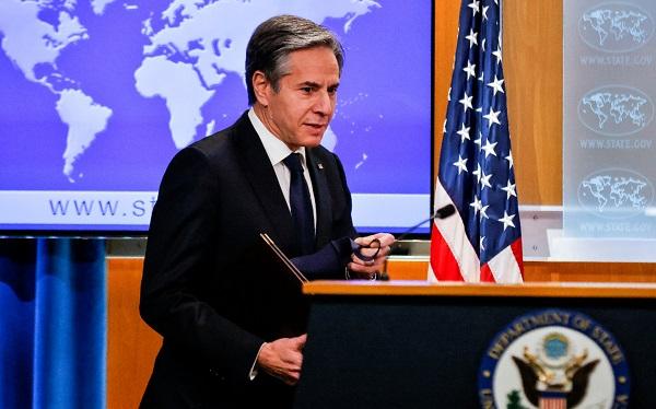 აშშ მიიღებს აუცილებელ ზომებს რუსეთის წინააღმდეგ მისი აგრესიული ქმედებების გამო - ბლინკენი