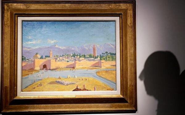 ანჯელინა ჯოლიმ უინსტონ ჩერჩილის ნახატი რეკორდულ ფასად გაყიდა