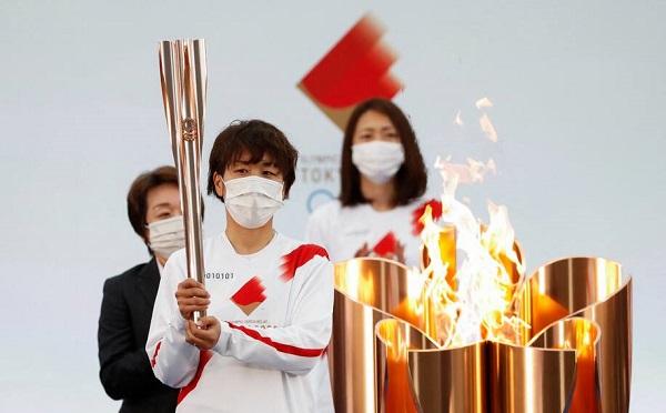 იაპონიაში სტარტი აიღო ოლიმპიური ცეცხლის ესტაფეტამ