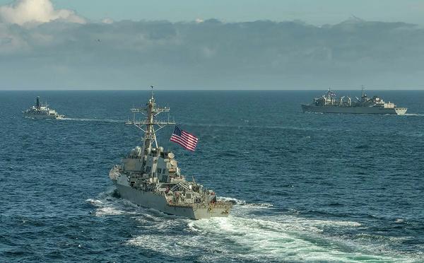 შეერთებული შტატები შავ ზღვაში ორ სამხედრო ხომალდს გზავნის - Anadolu