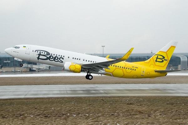 საქართველოს საავიაციო ბაზარზე ოპერირებას ახალი უკრაინული ავიაკომპანია Bees Airline გეგმავს