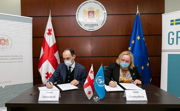 გარემოსდაცვითი პასუხისმგებლობის კანონის აღსრულების ხელშეწყობის მიზნით,  გარემოს დაცვისა და UNDP-ის შორის თანამშრომლობის მემორანდუმი გაფორმდა