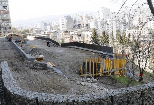 ფანასკერტელის ქუჩაზე ახალი რეკრეაციული სივრცე მოეწყობა