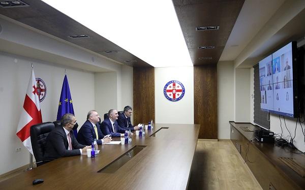 ეროვნული ბანკის პრეზიდენტი და ფინანსთა მინისტრი საერთაშორისო სავალუტო ფონდის მმართველი დირექტორის მოადგილეს შეხვდნენ