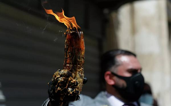 იერუსალიმში წმინდა ცეცხლის გარდამოსვლის რიტუალს მხოლოდ ვაქცინირებული ადამიანები დაესწრებიან