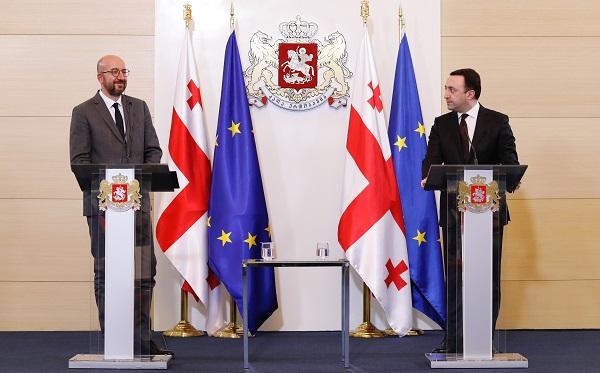 ეს შეთანხმება არის კარი საქართველო-ევროკავშირის ურთიერთობების გაღრმავებისკენ - შარლ მიშელი