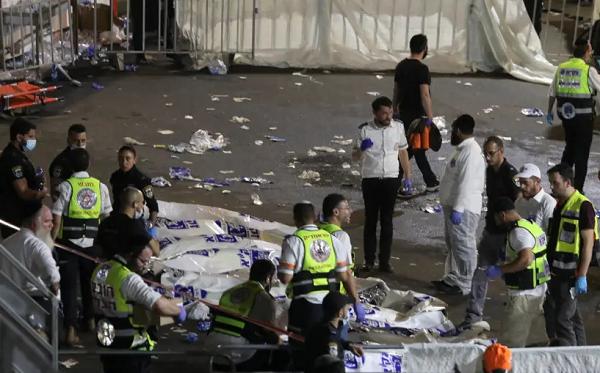 ისრაელში, რელიგიურ დღესასწაულაზე, ჭყლეტის შედეგად 44 ადამიანი დაიღუპა