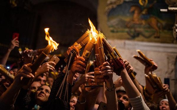 წმინდა ცეცხლს იერუსალიმიდან თბილისში 20:30 საათზე ჩამოაბრძანებენ - საპატრიარქო