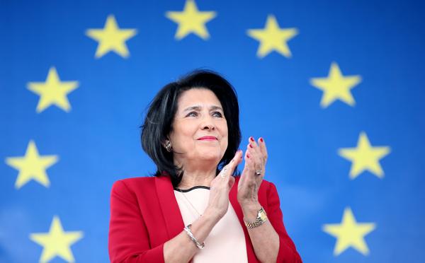 ევროპისკენ მიმავალი გზა ჩვენი წინსვლის რეალური გზაა - სალომე ზურაბიშვილი