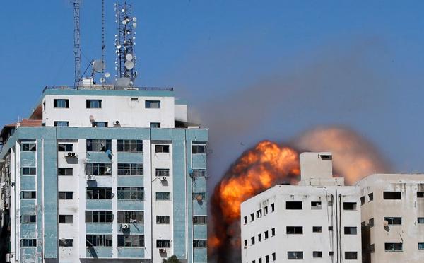 ისრაელის განცხადებით, ჰამასი Al Jazeera-სა და Associated Press-ის ოფისებს ცოცხალ ფარად იყენებდა