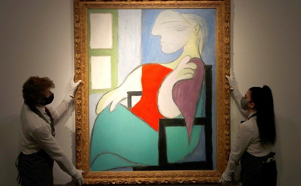 პიკასოს ნახატი აუქციონზე 103 მილიონ დოლარად გაიყიდა